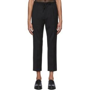 CMMN SWDN Black Stan Lounge Pants