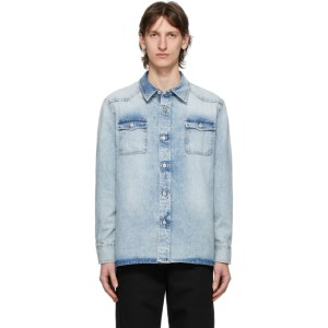 Our Legacy Blue New Frontier Shirt