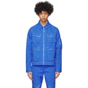 Eckhaus Latta Blue Ike Jacket