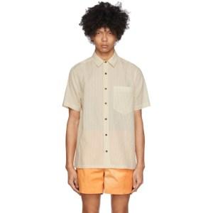 Nanushka Beige Adam Shirt