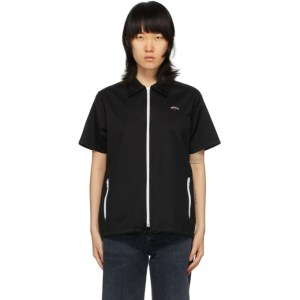 Noah Black Zip Work Shirt