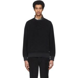 Saturdays NYC Black Terry Bowery Sweatshirt