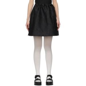 Shushu/Tong Black Bow Skirt