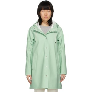 Stutterheim Green Mosebacke Raincoat