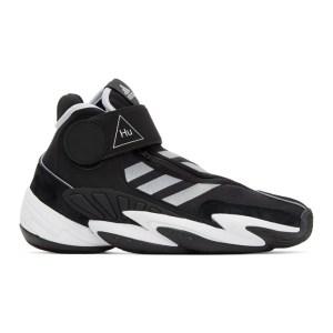 adidas Originals x Pharrell Williams Black Crazy BYW Sneakers