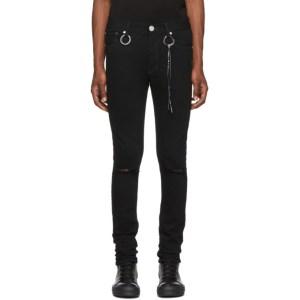 mastermind WORLD Black Skinny Jeans