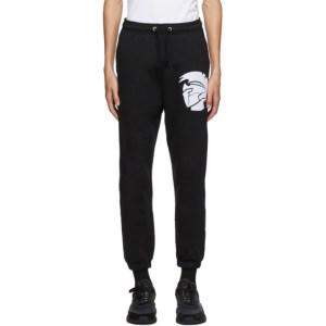 Diesel Black Calton X1 Lounge Pants