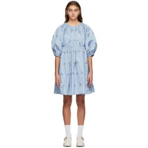 Cecilie Bahnsen SSENSE Exclusive Blue Ava Dress
