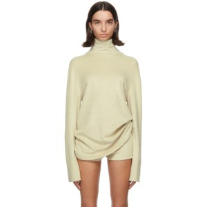 Kwaidan Editions Beige Fluffy Turtleneck