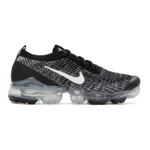 Nike Black and White Air VaporMax 2020 Flyknit 3 Sneakers