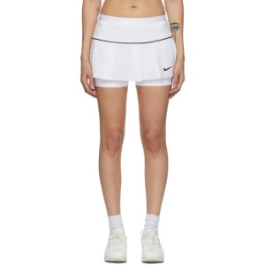 Nike White Victory Tennis Skirt
