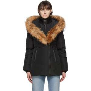 Mackage Black Down and Fur Adali Parka