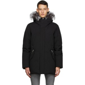 Mackage Black and Silver Down Edward Coat