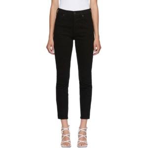 Citizens of Humanity Black Olivia Slim Jeans