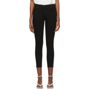 Citizens of Humanity Black Rocket Crop Jeans