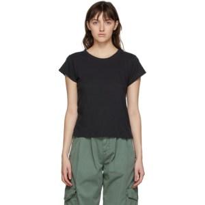Citizens of Humanity Black Juliette Slim T-Shirt