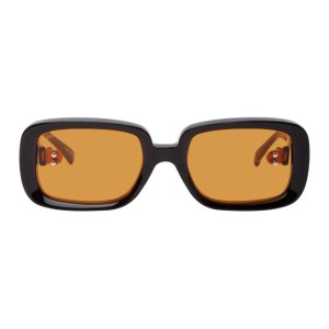Doublet Brown Square Sunglasses