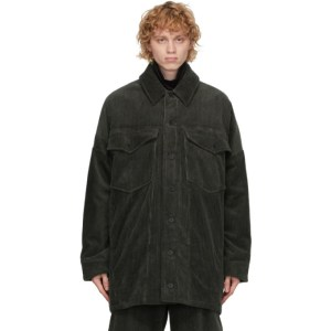 House of the Very Islands Green Corduroy Signal Jacket