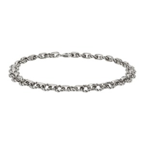 Ugo Cacciatori Silver Tiny Light Chain Bracelet