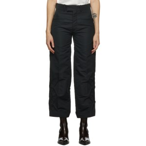 Namacheko Black Zigzag Thorwald Trousers