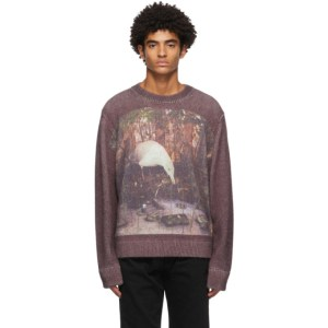 Namacheko Burgundy Angora Dustan Sweater