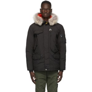 Parajumpers Black Down Right Hand Light Jacket