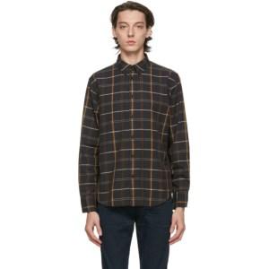 rag and bone Black Fit 2 Tomlin Shirt
