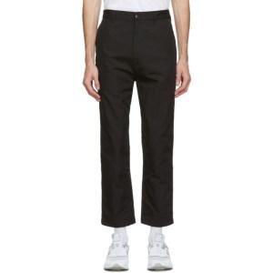 Comme des Garcons Homme Black Oxford Trousers