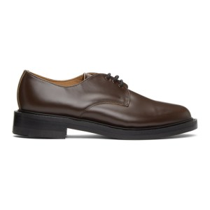 Comme des Garcons Homme Brown NPS Edition Officer Gibson Derbys