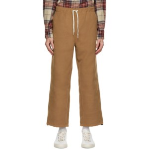 Remi Relief Beige Melton Trousers
