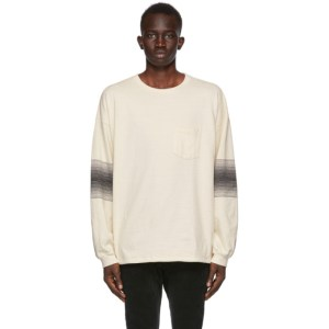 Remi Relief Off-White Striped Long Sleeve T-Shirt