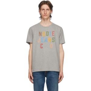 Nudie Jeans Grey Roy T-Shirt
