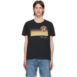 Nudie Jeans Black Misfit Sunset Roy T-Shirt