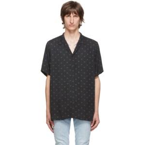 Ksubi Black Star Resort Shirt