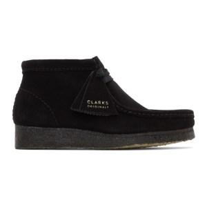 Clarks Originals Black Wallabee Boots