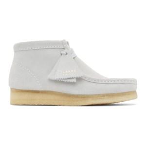 Clarks Originals Grey Wallabee Boots