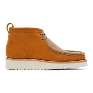 Clarks Originals Tan Wallabee Hike Desert Boots