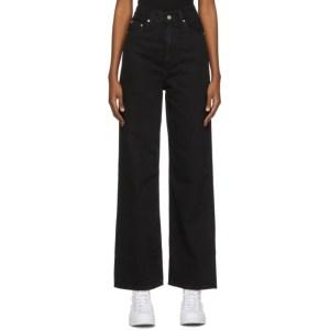 Levis Black High Loose Jeans