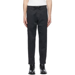Levis Black Cropped Pull-On Taper Trousers