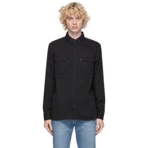 Levis Black Jackson Worker Shirt