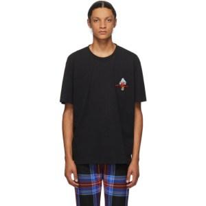 Charles Jeffrey Loverboy Black Art Gallery T-Shirt