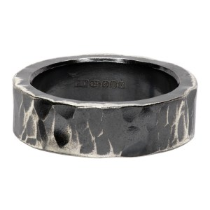 Chin Teo Silver Stonewall Ring