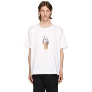 Goodfight White Ice Cream Mountain T-Shirt
