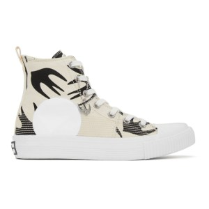 McQ Alexander McQueen Off-White McQ Swallow Orbyt High-Top Sneakers