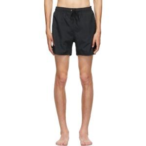 Norse Projects Black Hauge Swim Shorts