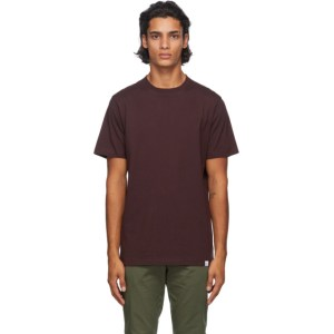 Norse Projects Burgundy Niels Standard T-Shirt