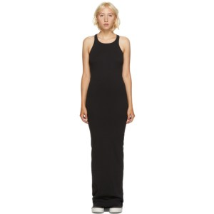 Rick Owens Drkshdw Black Rib Tank Dress