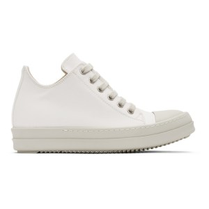 Rick Owens Drkshdw White Low Sneakers