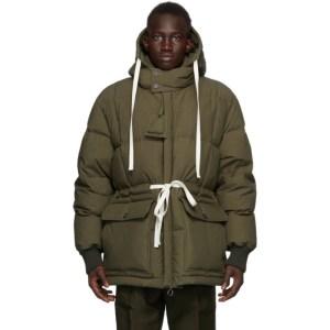 UNIFORME Khaki Down Padded Jacket