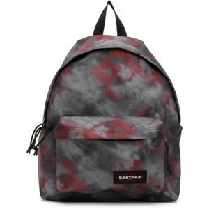 Eastpak Black and Red Tie-Dye Padded Pakr Backpack